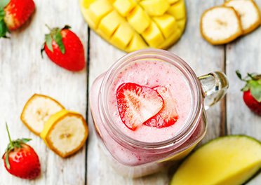 Mango Strawberry Smoothie